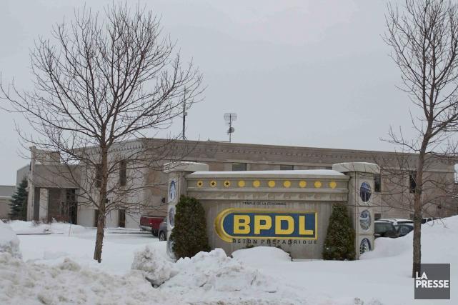 Béton préfabriqué du Lac (BPDL) s'implante aux États-Unis en  faisant... ((Photo Marc St-Hilaire))