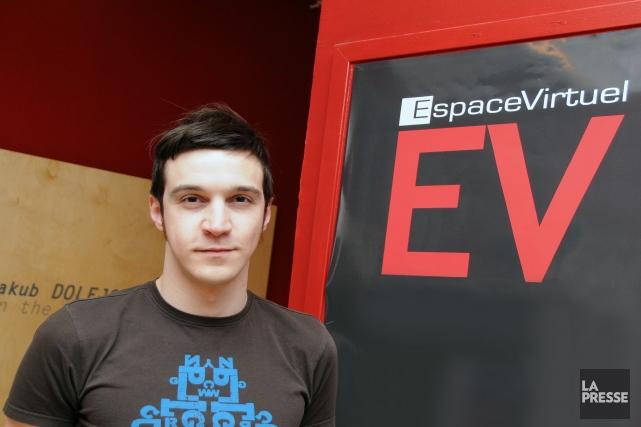 Le directeur général d'Espace Virtuel, Sébastien Harvey (photo),... (Photo archives)