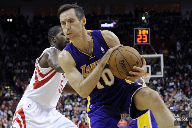 Steve Nash... (Photo: archives AP)