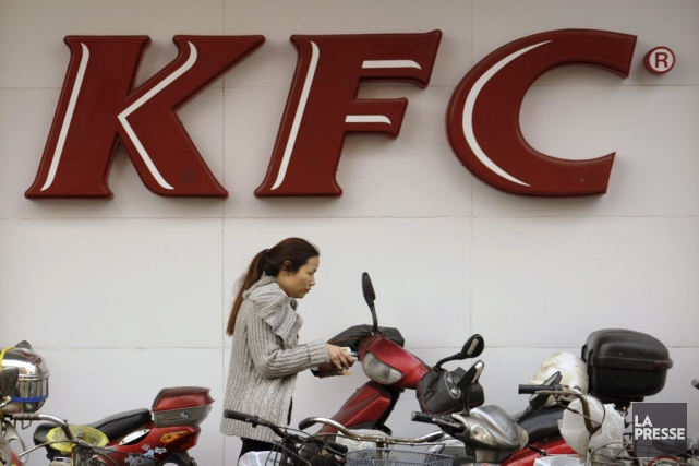 La chaîne PFK compte plus de 4000 restaurants... (PHOTO PETER PARKS, AFP)