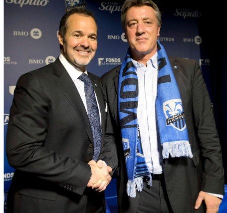 Joey Saputo a embauché le Suisse Marco Schellibaum... (La Presse Canadienne)