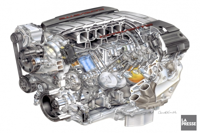 La septième génération de la Corvette sera lancée... (PHOTO FOURNIE PAR GM)