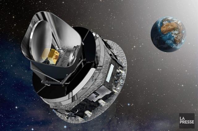 Le télescope Herschel, de l'Agence spatiale européenne (ESA).... (Image Associated Press)