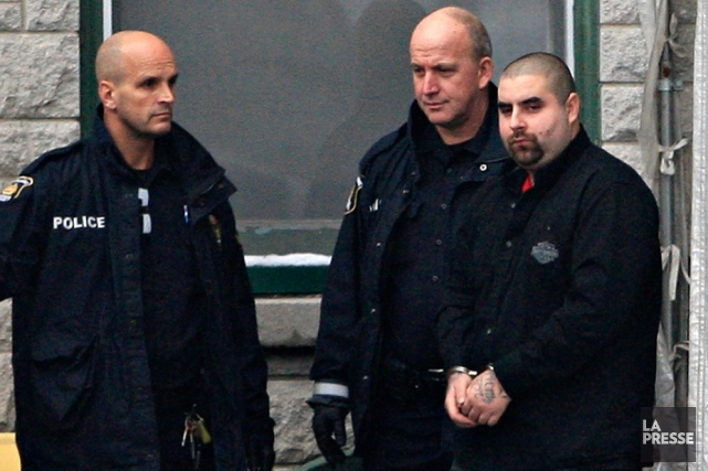 Sébastien Jacob (à droite), 22 ans, a comparu... (Le Soleil, Pascal Ratthé)
