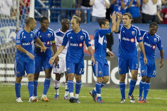 L'Impact disputera deux matchs à l'extérieur au stade... (Photo: Robert Skinner, La Presse)