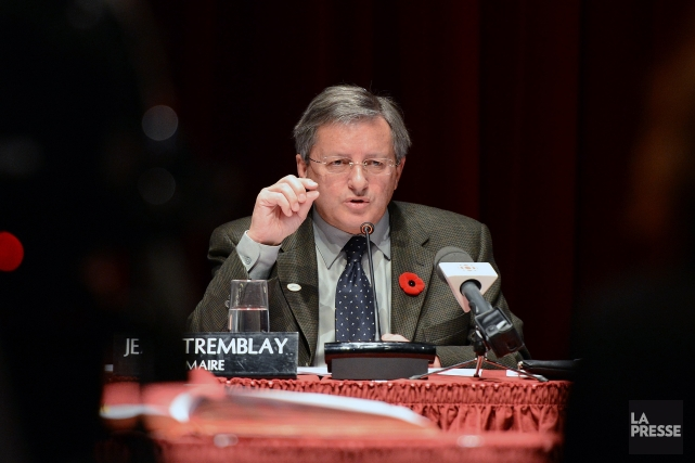 Le maire Jean Tremblay... (Archive Jeannot Lévesque)