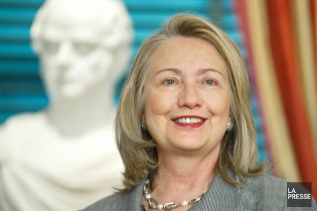 La secrétaire d'État sortante Hillary Clinton.... (PHOTO KAREN BLEIER, AFP)