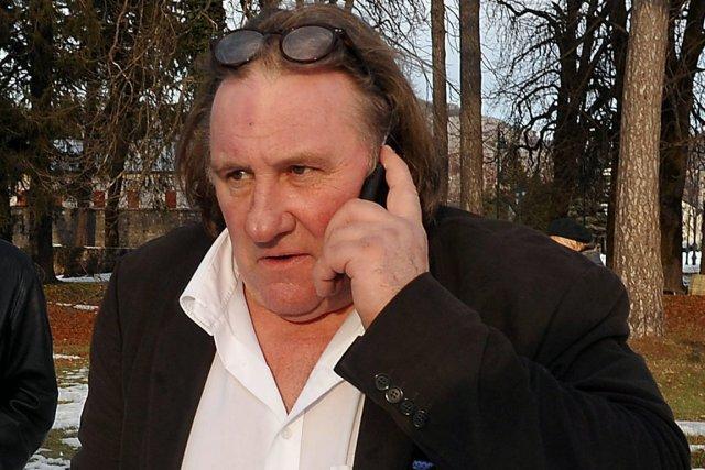 L'acteur français Gérard Depardieu possède depuis peu un... (Photo: AP)