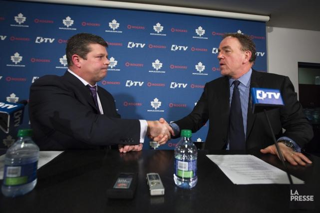 Le nouveau directeur général des Maple Leafs de... (Photo: Reuters)