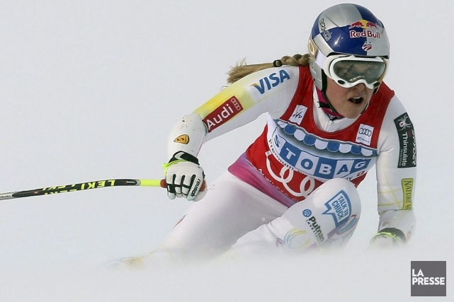 Lindsey Vonn... (Photo Marco Trovati, Associated Press)