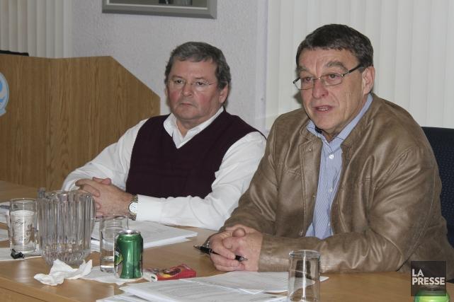 Le président de la Société de l'énergie communautaire... (Photo Isabelle Tremblay)