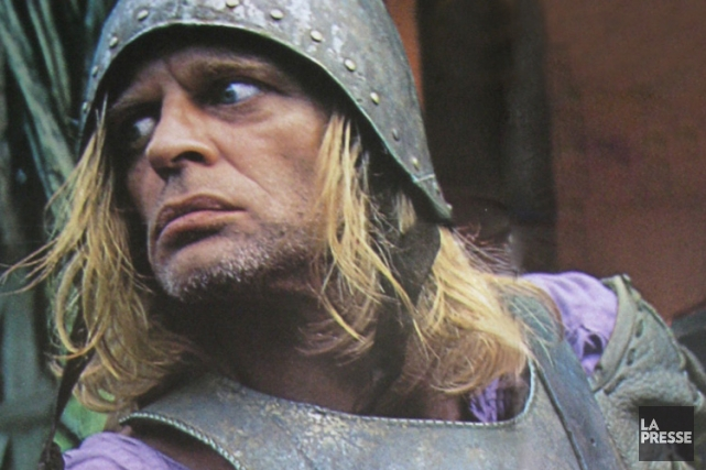 Klaus Kinski dans Aguirre, la colère de Dieu...