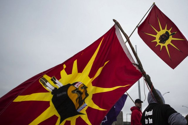 Le mouvement Idle No More commence à gagner... (Photo La Presse)