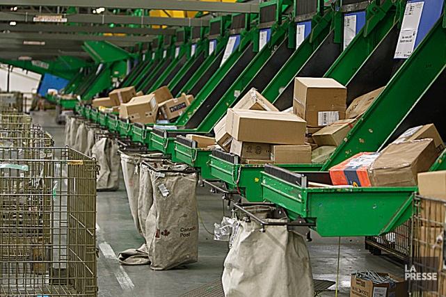 «La tendance dans l'augmentation des livraisons de colis... (Photothèque La Presse)