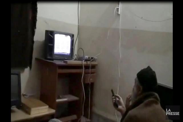 Cette image tirée d'une vidéo, diffusée par le... (IMAGE ARCHIVES AFP)