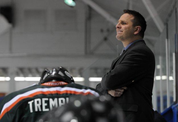 L'entraîneur des Patriotes Gilles Bouchard.... (Photo: François Gervais)