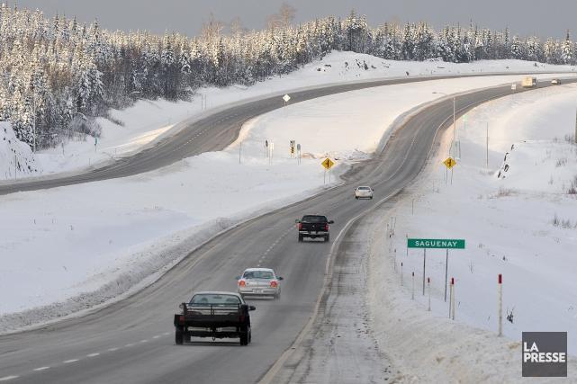 Le maire de Saguenay, Jean Tremblay, souhaite que la route de la Réserve... (Archives Rocket Lavoie)
