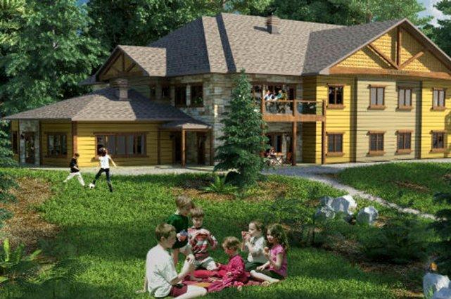 La compagnie Abeilla Developments souhaite construire trois édifices... (Photo courtoisie)