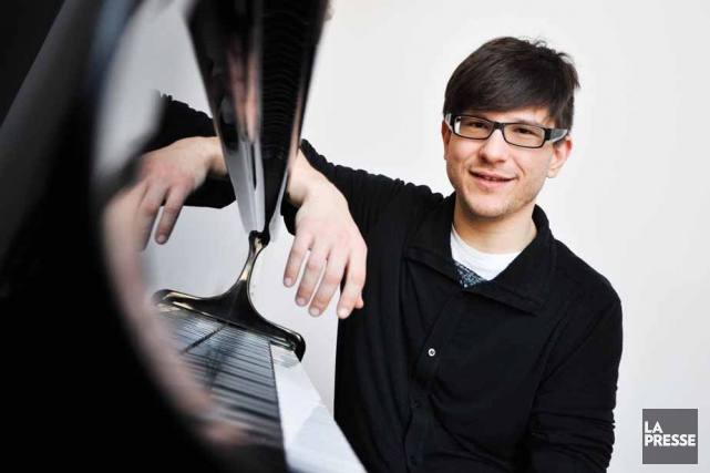 Le pianiste Olivier Hébert-Bouchard partage son temps entre... (Photo: Émilie O'Connor)