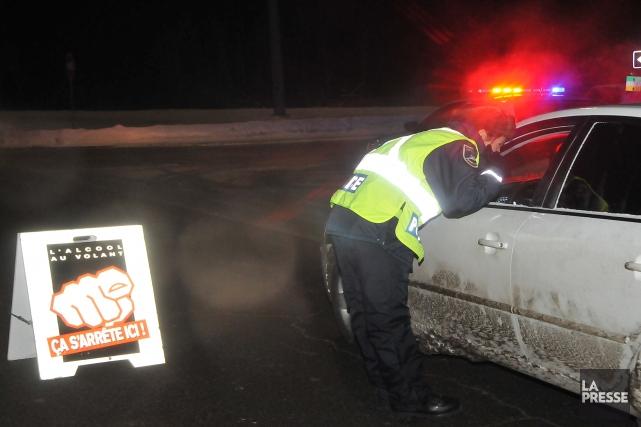 Au cours de l'année 2011, les policiers de la Sûreté du Québec et de la... (Photo archives Sylvain Dufour)