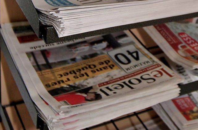 Si vous êtes comme moi, vous êtes en train de lire votre quotidien préféré en... (Photothèque Le Soleil)