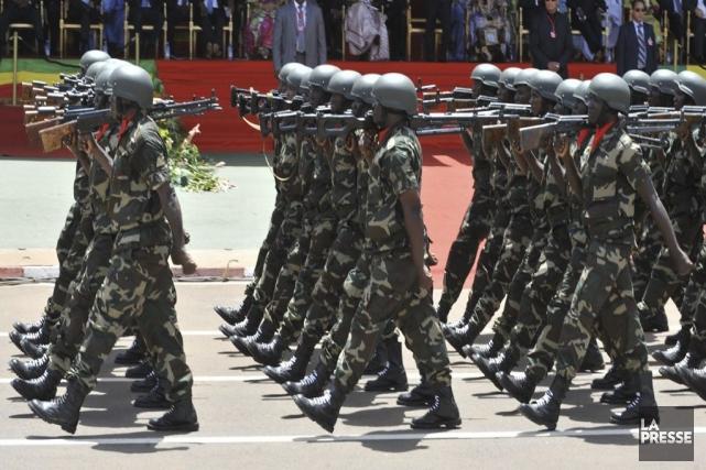 Des soldats maliens, en 2010.... (SIA KAMBOU)