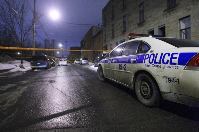 La tentative de meurtre s'est déroulée dans un... (Photo: Félix-Olivier Jacques Fournier)