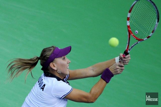 Elena Vesnina... (Photo Kirill Kudryavtsev, archives AFP)