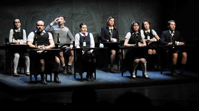 La pièce Les mutants a donné à rire... ((Photo Rocket Lavoie))