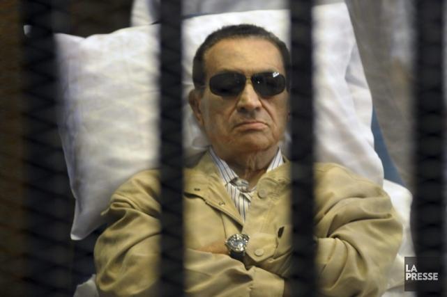 L'ex-président purge déjà une peine de prison à... (PHOTO ARCHIVES AP)