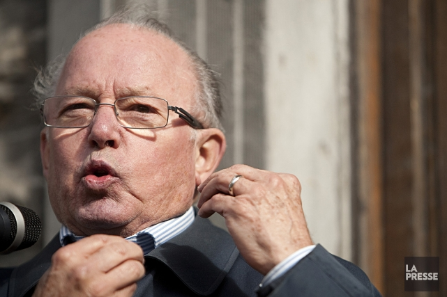 Bernard Landry, photographié en juin 2010.... (Photo: David Boily, archives La Presse)