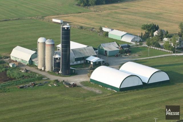L'acquisition de terres cultivables par des intérêts financiers demeure  pour... (Patrick Woodbury, LeDroit)