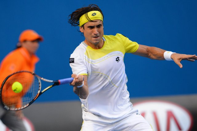 David Ferrer... (Photo: AFP)
