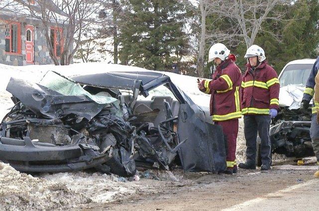 La SQ recherche des témoins de l'accident qui... (Collaboration spéciale Steve Jolicoeur)