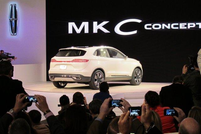 La berline MKZ, basée sur la Ford Fusion,... (Photo : Pierre-Marc Durivage, La Presse)