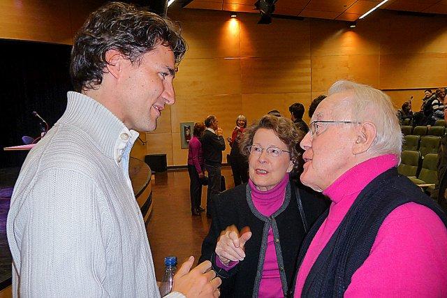Parmi l'assistance, Clément Alarie, 88 ans, a apprécié... (Collaboration spéciale Marc Larouche)
