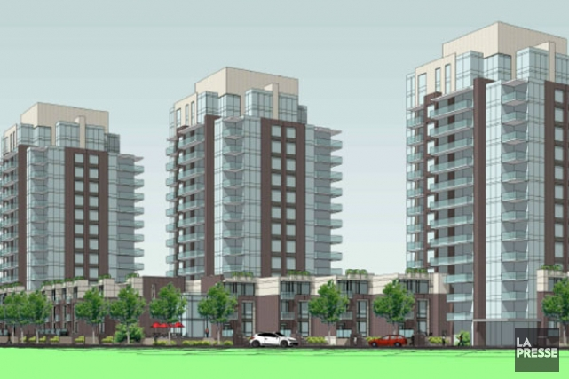 Le promoteur Richcraft souhaite construire trois tours résidentielles... (COURTOISIE, Ville d'Ottawa)