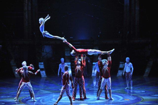 Le Cirque du Soleil a mis fin prématurément... (Archives La Presse)