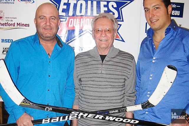 Les anciens de la Ligue nord-américaine de hockey... (Collaboration spéciale Ian Bussières)