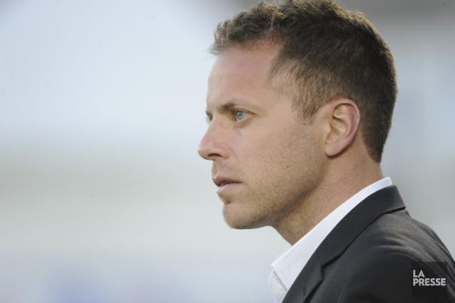 Marc Dos Santos connaît du succès comme entraîneur... (Photo Bernard Brault, archives La Presse)