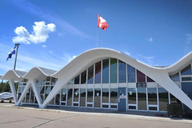 L'aéroport de Trois-Rivières.... (Photo: Stéphane Lessard)