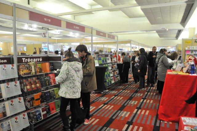 Le Salon du livre de Trois-Rivières.... (Photo: Stéphane Lessard)