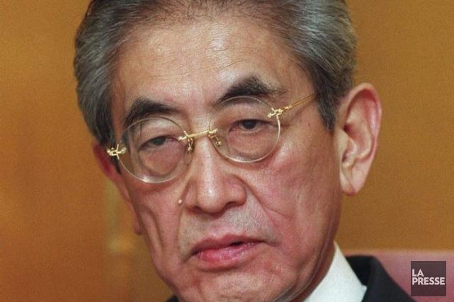 Le réalisateur Nagisa Oshima en mars 2000.... (Photo: archives AFP)
