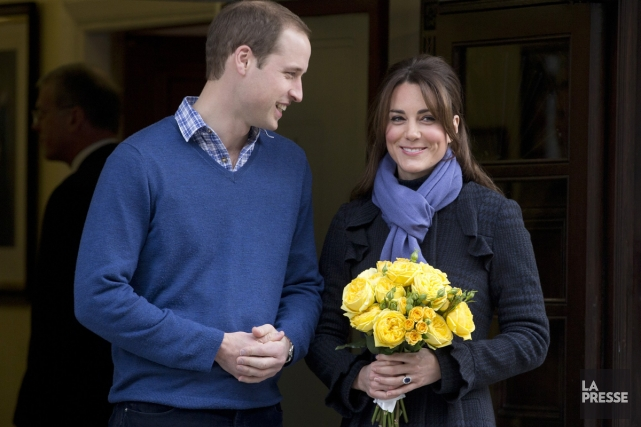 Kate Middleton et son mari William... (Photo: AP)