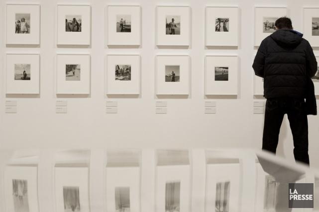 Célèbre pour ses images austères du Grand Ouest capturées en noir et  blanc, le... (Photo: AFP)