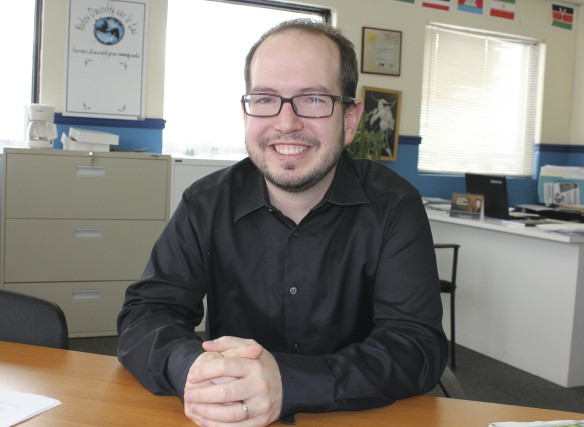 Louis-Michel Tremblay est directeur général de l'organisme Portes... (Photo Isabelle Tremblay)
