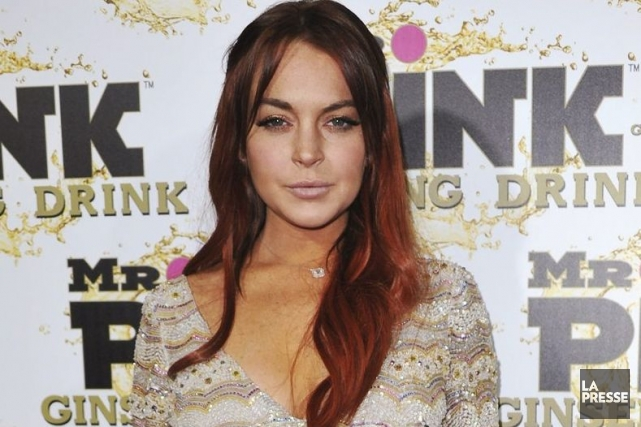 Lindsay Lohan... (Photo : archives AP)