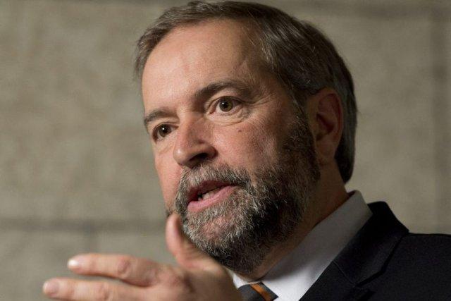 M. Mulcair a convoqué ses homologues des provinces... (Photo La Presse Canadienne)