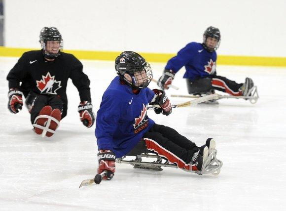 Président du hockey sur luge au Saguenay-Lac-Saint-Jean, Martial Laberge a... (Photo Jeannot Lévesque)