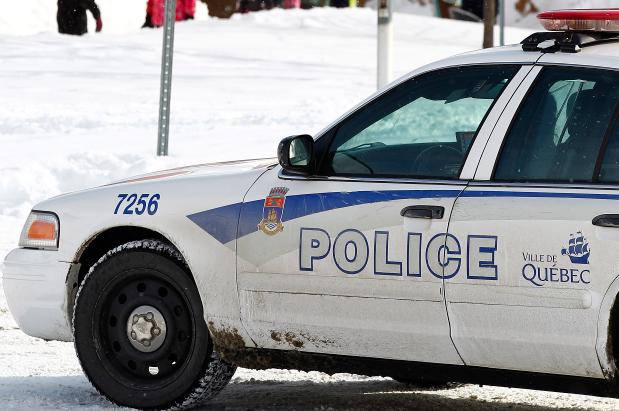 La police de Québec recherche un individu d'une quarantaine d'années,  auteur... (Le Soleil, Yan Doublet)